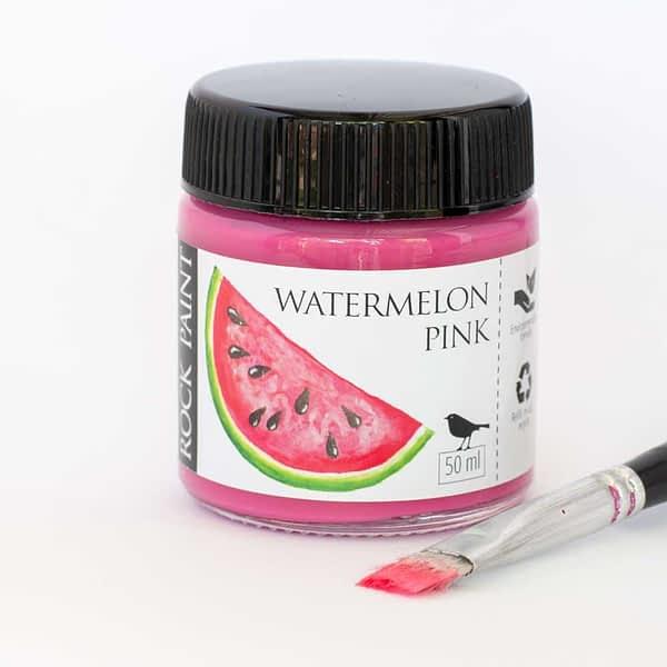 Watermelon Pink Acrylic Craft Paint