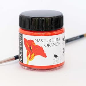 Nasturtium orange paint
